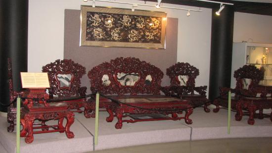 Mahogany Living Room Furniture Set