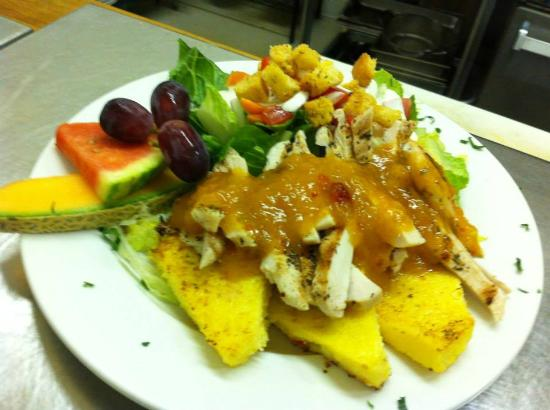 Ukiah, CA: Brazilian Special with Fried Polenta