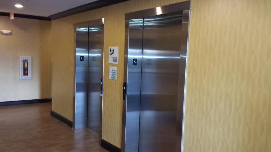 Motel 6 Wytheville: Elevator Lobby
