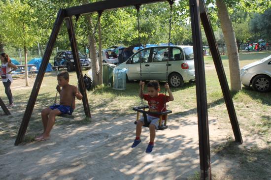 Castelcivita, Italien: Parco giochi