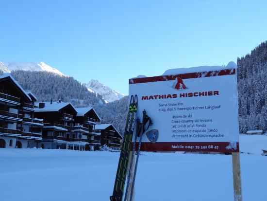 Oberwald, Svizzera: Mathias Hischier Langlaufunterricht