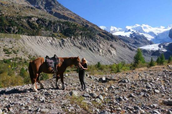 Madulain, Switzerland: Val Morteratsch