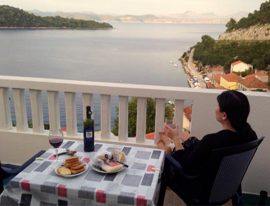 Sobra, Kroatien: View from our room