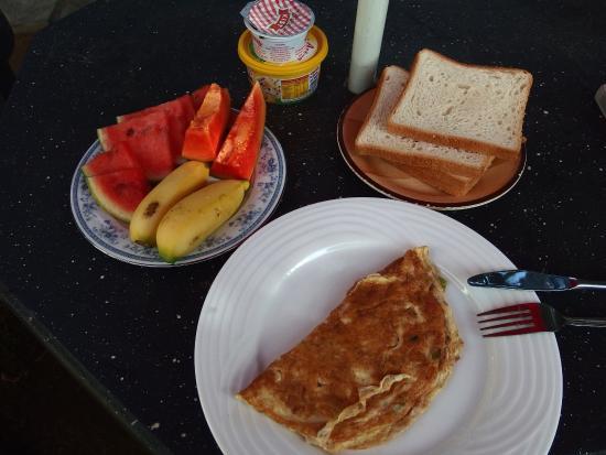 Takeshi Inn : 朝食