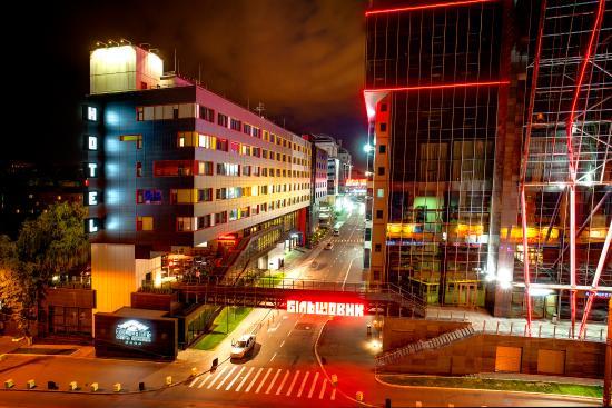 Cosmopolite Hotel: Building With Bolshevik