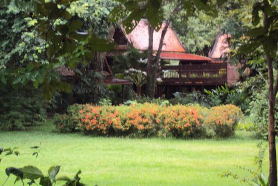 Phe, Thailand: Traditional Thai house