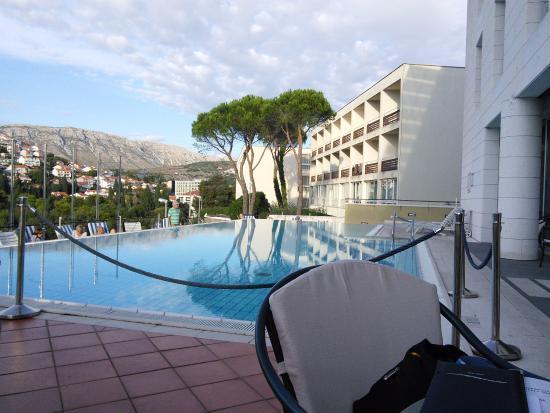 View of Hotel Adriatic from sister Hotel next door