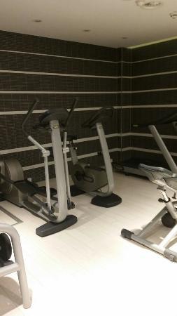 A Small Gym Actually A Tiny Gym Bild Von Eurostars Book Hotel