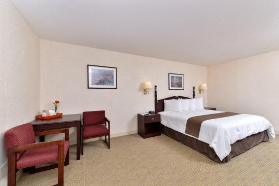 Hazlehurst, Τζόρτζια: One King Bed Accessible Guest Room