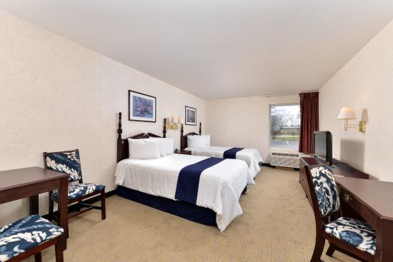 Hazlehurst, Τζόρτζια: Two Double Bed Suite
