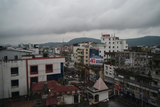 Hotel Kiranshree Portico: View from Hotel