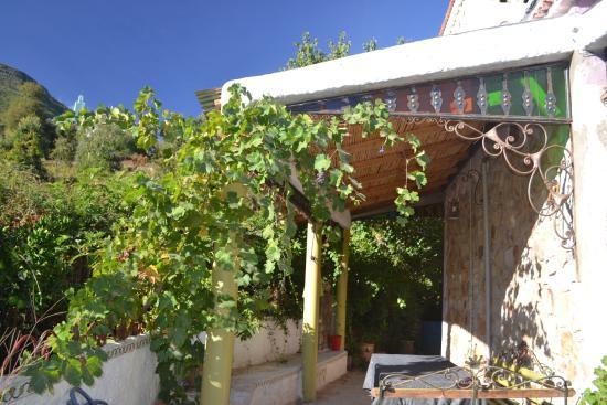 Casa Rural Dar Khizana: Terrasse ensoleillée