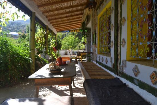 Casa Rural Dar Khizana : La terrasse encore