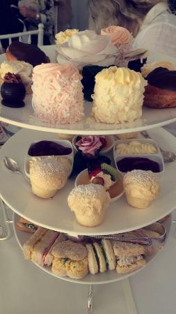 Petite & Sweet Tearoom Coffee Shoppe & Patisserie: 3 tiers of treats