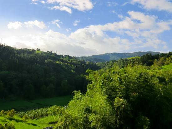 Agriturismo Itulazabal: Het uitzicht vanuit onze kamer