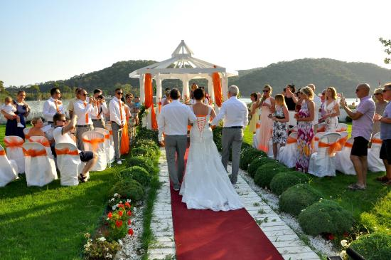 Sugarbeach Weddings Picture Of The Sugar Beach Club Oludeniz