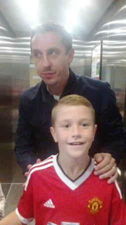 Gary and the boy