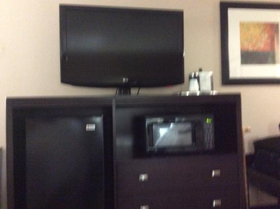 Hampton Inn Dublin : inside room
