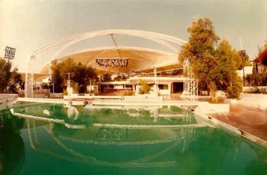 San Rafael, Spain: 1986, when it was 'KU' & open air!