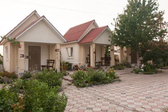 Южноукраинск, Украина: Домики где также можно переночевать