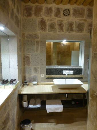 das stylische Badezimmer - Bild von Ansia Hotel, Uchisar - TripAdvisor