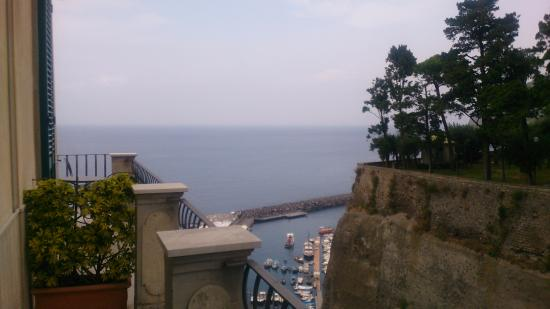 Domus San Vincenzo: View from the balcony