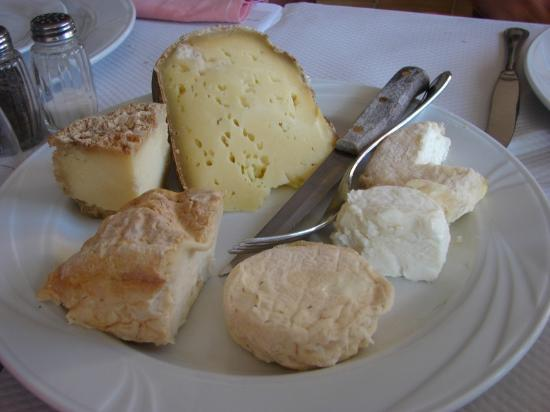 La Bollene Vesubie, Frankrike: Les fromages