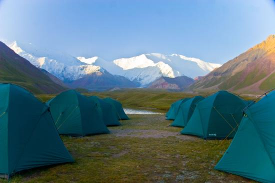 Osh Province, Kirgisistan: Пик Ленина (7134 м)