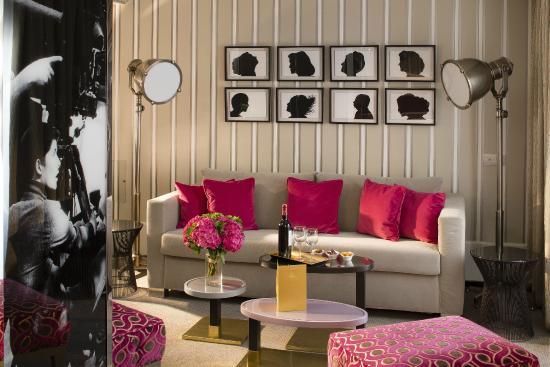 Hotel Baume: Salon de la Junior Suite