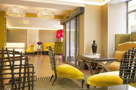 Hotel Baume: Réception