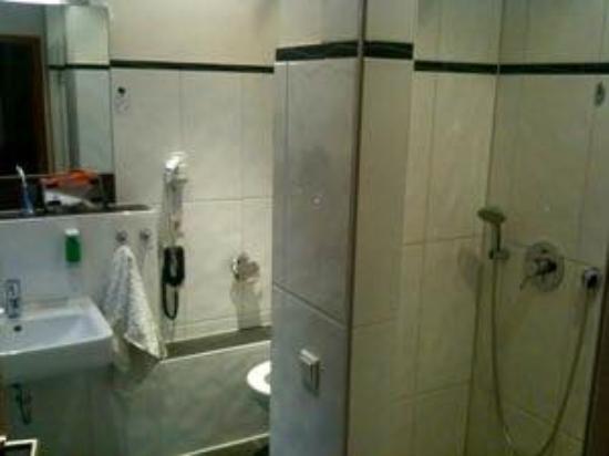 Hotel Haus Hillesheim: Unser Badezimmer