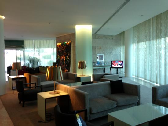 Santa Maria Hotel -- Fatima: The lobby which serves as lounge and bar area