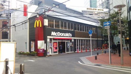 入り口 - 大阪市、マクドナルド 梅田茶屋町店の写真 - トリップアドバイザー