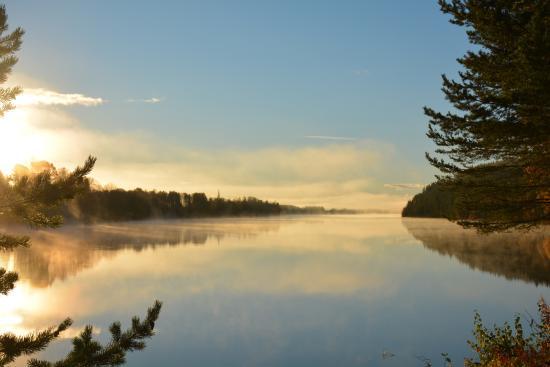 Grano Beckasin: Lake view early morning