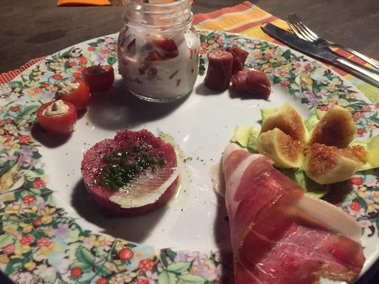 Agriturismo Piaggione di Serravalle: First course