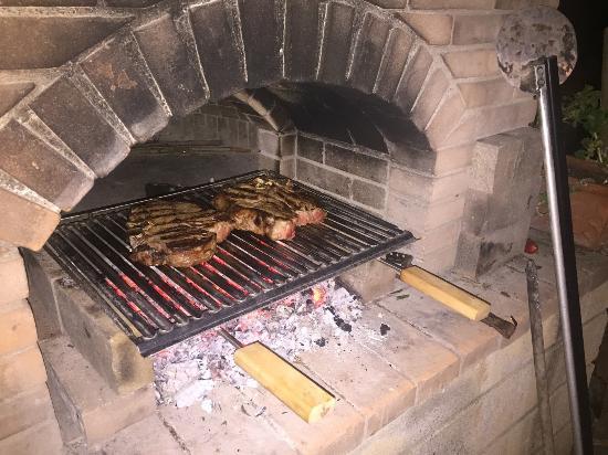Agriturismo Piaggione di Serravalle: Steak! (bistecca)