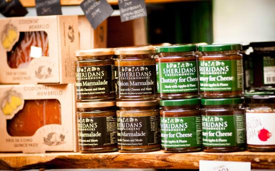 Sheridans Cheesemongers: Sheridans own brand products available instore