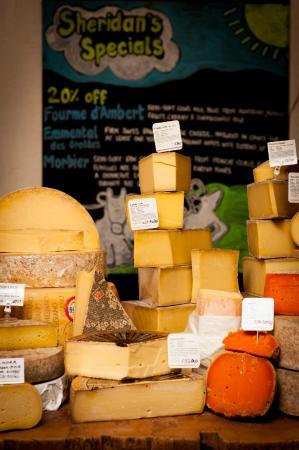 Sheridans Cheesemongers: Sheridans Cheese Counter Galway