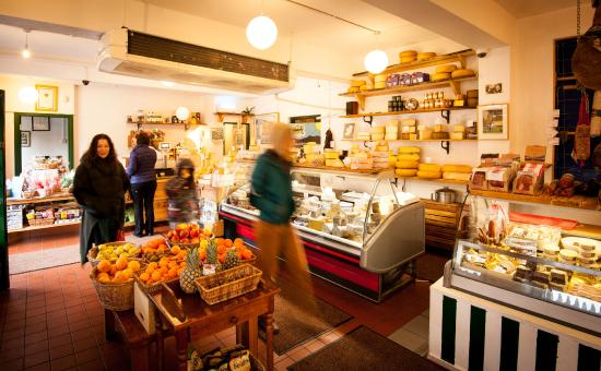 Sheridans Cheesemongers: Galway Shop - Cheese counter and Deli
