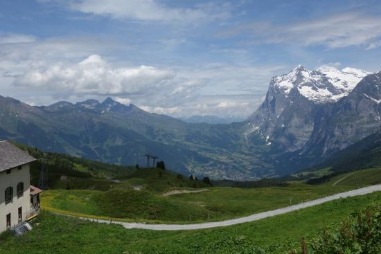 Grindelwald, Switzerland: From KleineSheidegg