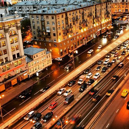 Lotte Hotel Moscow: Вид из окна