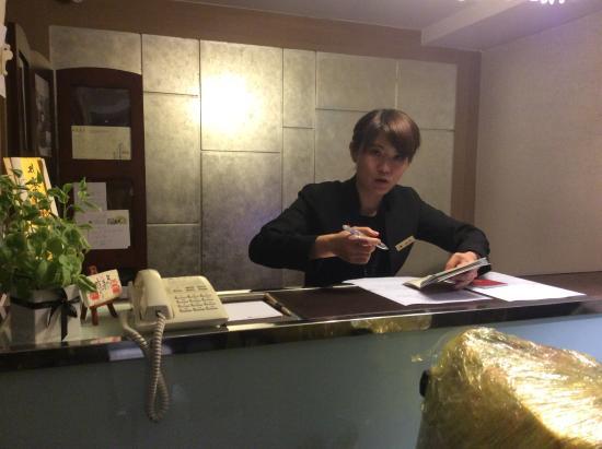 Ginza Hotel: フロント