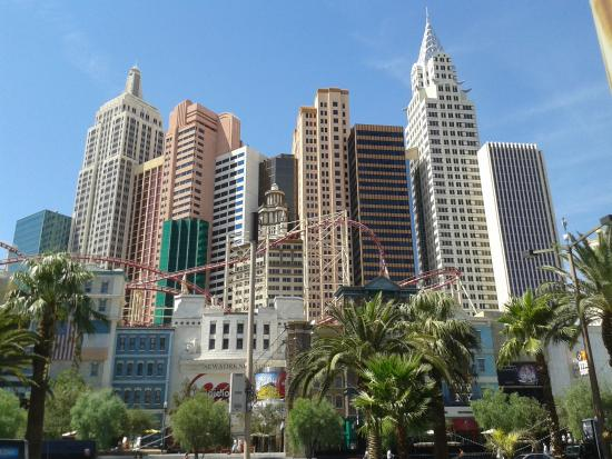 view from the strip