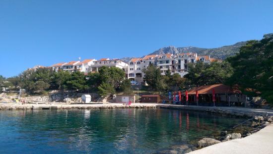 Karlobag, Хорватия: Hotel & the beach