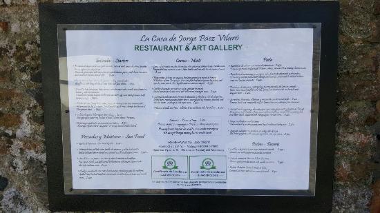 La Casa de Jorge Paez Vilaro - Gallery & Restaurant