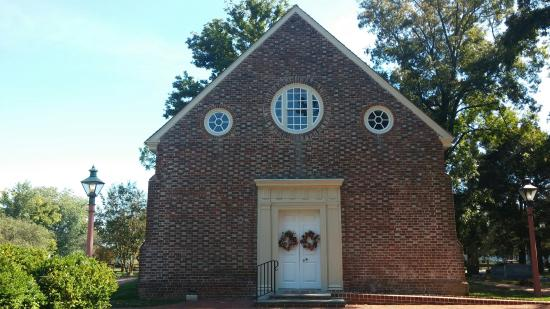 Wye Mills, MD: Front of church