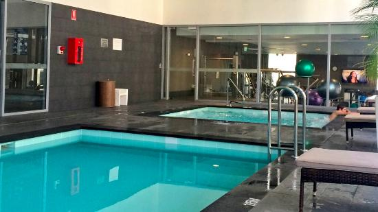 Swimming pool jacuzzi gym picture of fraser suites for Pool show perth 2015