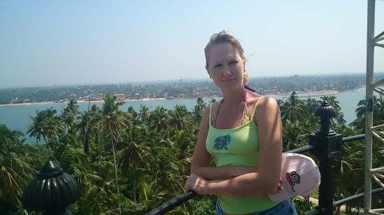 Sumal Villa: Вид с маяка на острове
