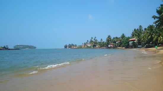 Sumal Villa: Пляж