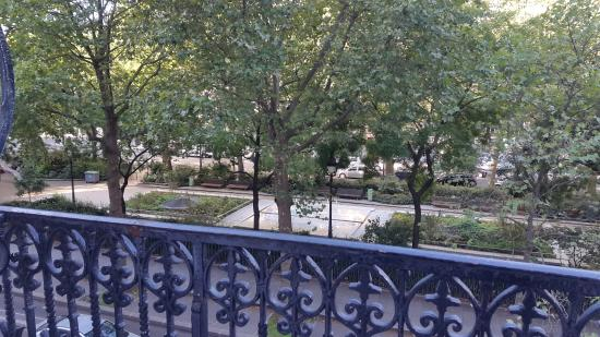 Auberge Jules Ferry: View from my room (second floor)